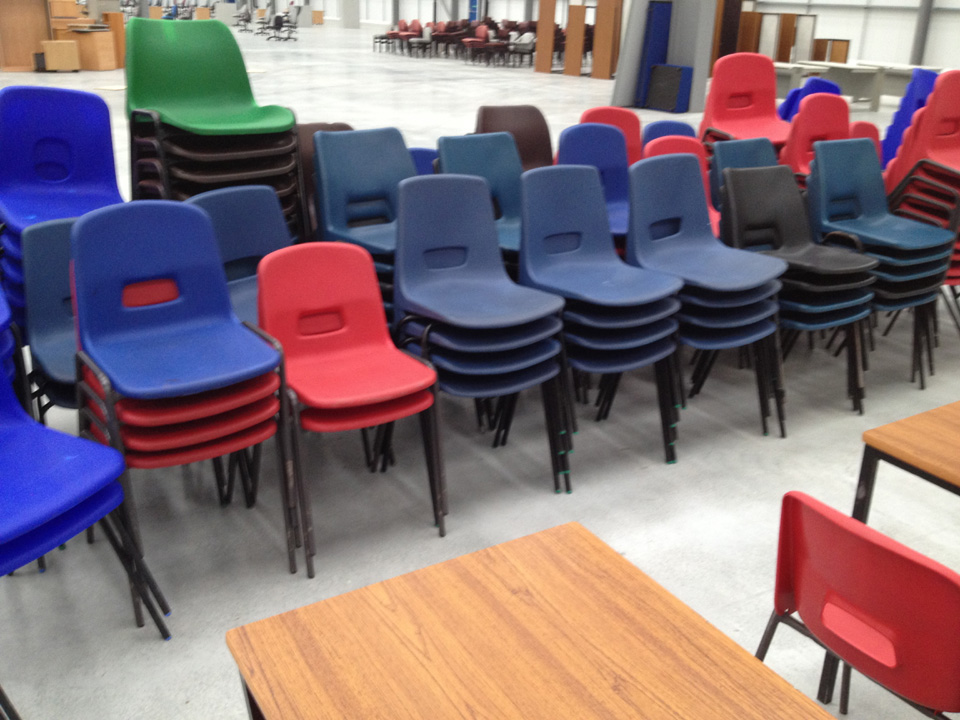 Green Furniture Aid Donating Used Office To Charity Recycled Recycling Plant