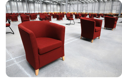 green furniture aid: donating used office furniture to charity